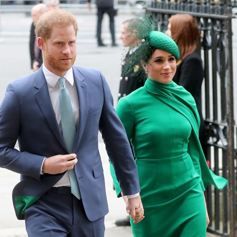 The couple have been the shining stars of the royal family since their engagement. Picture: Chris Jackson/Getty Images)