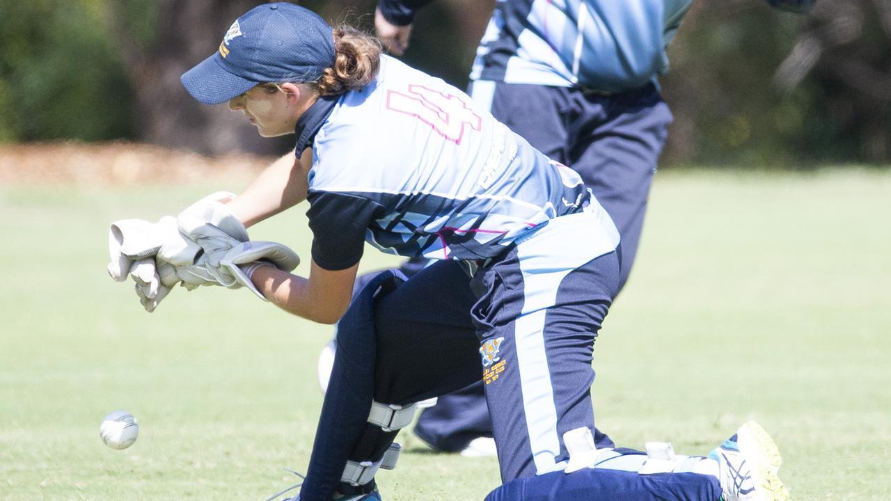 Valley wicket keeper Ryleigh Wotherspoon. (AAP Image/Renae Droop)