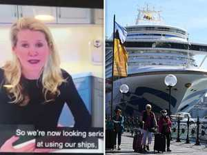 Mission to get trapped Ruby Princess crew home