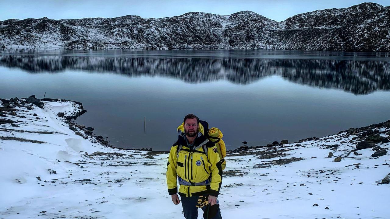 Davis Research Station, Antarctica, station leader David Knoff. Picture: Australian Antarctic Division @AusAntarctic