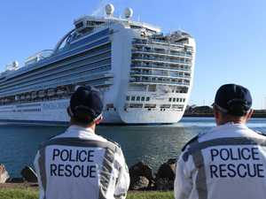 'Red zone': Trapped Ruby Princess crew feel like 'prisoners'