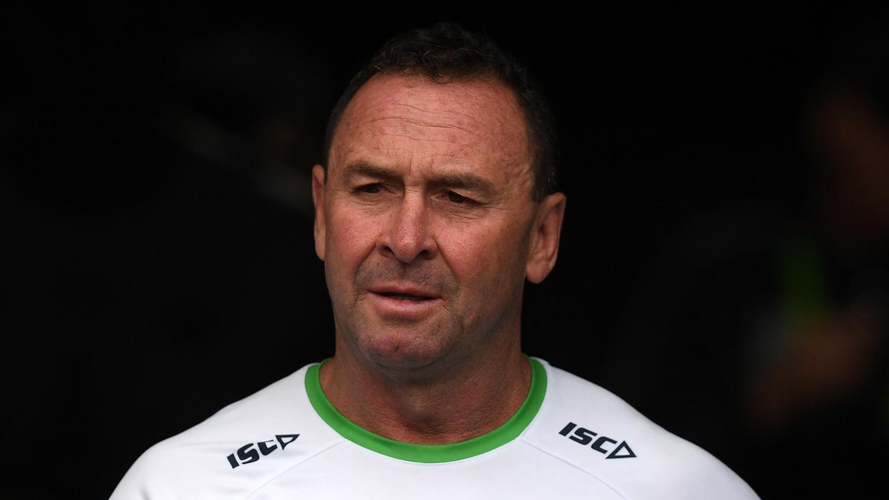 Raiders coach Ricky Stuart. Picture: Dan Himbrechts