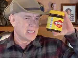 Hanks pokes fun at Vegemite outrage