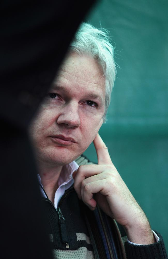 "Stella Morris says falling in love was ""act of rebellion"" for Julian Assange. Picture: Getty Images"