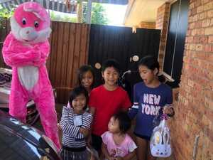 Easter surprise brings joy to Bundy families