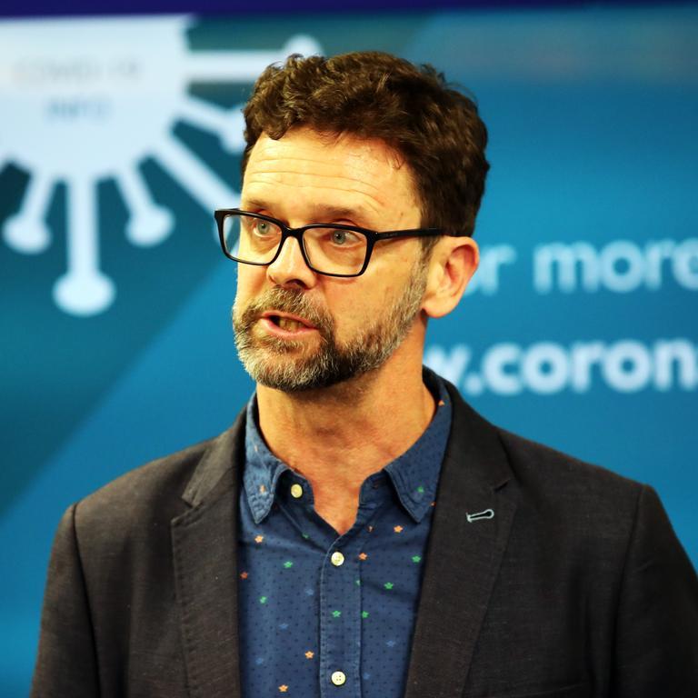 Acting Director of Public Health Scott McKeown Picture: ZAK SIMMONDS