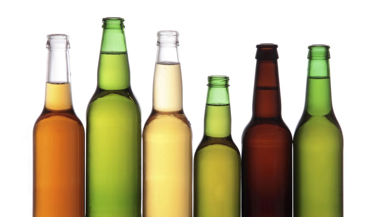 Generic beer bottles. Alcohol. thinkstock