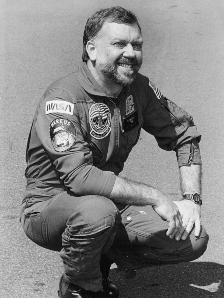 Astronaut Paul Scully-Power.