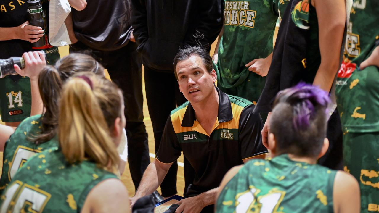 Ipswich Force coach Brad George. Picture: Cordell Richardson