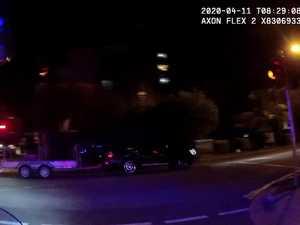 Stolen car pursuit, Sunshine Coast