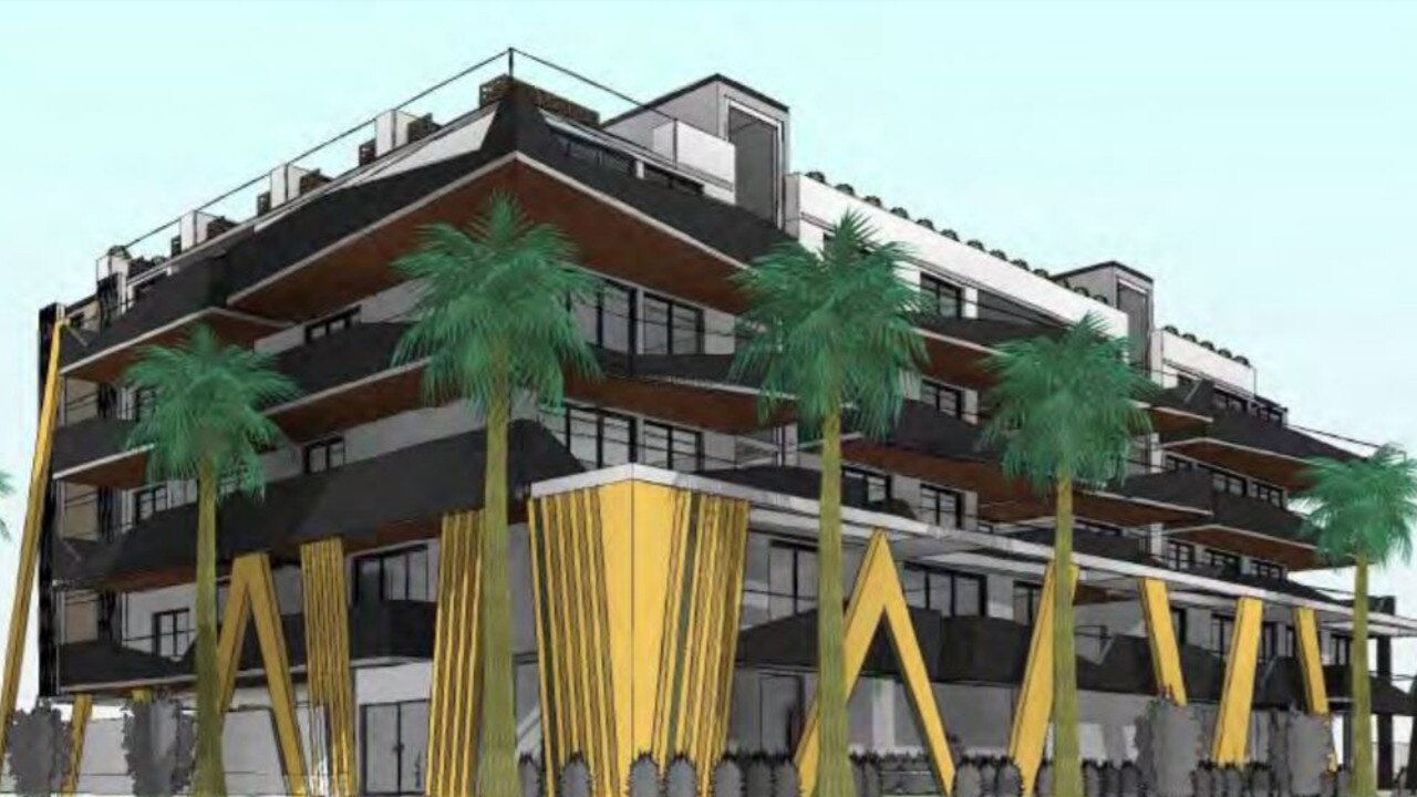 Plans for a five-storey apartment building are causing a stir on the Northern Beaches.