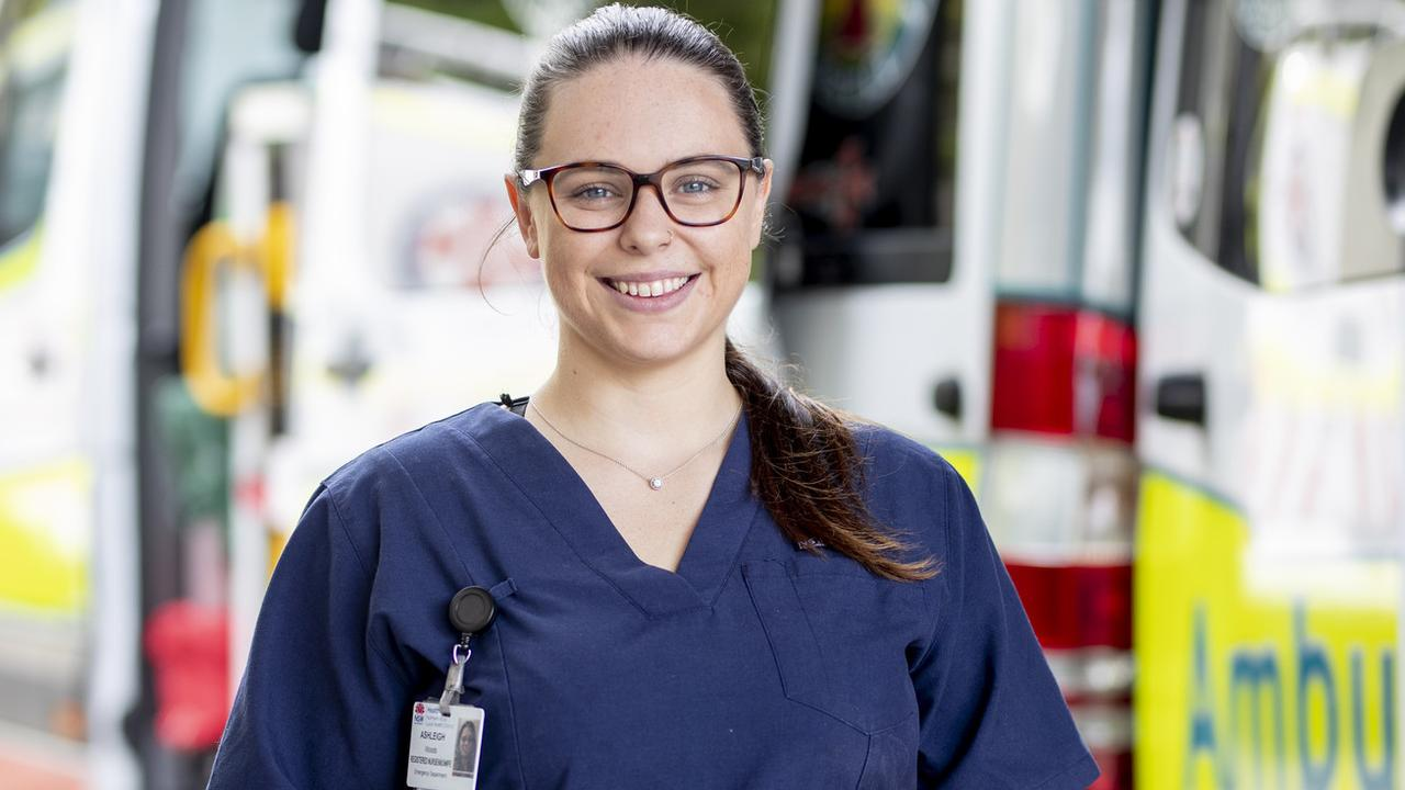 Ashleigh Woods graduated with the Bachelor of Nursing in 2015 and the completed postgraduate studies in midwifery at another university. She works as a nurse at The Tweed Hospital's emergency department and Women's Care Unit, helping to deliver babies.