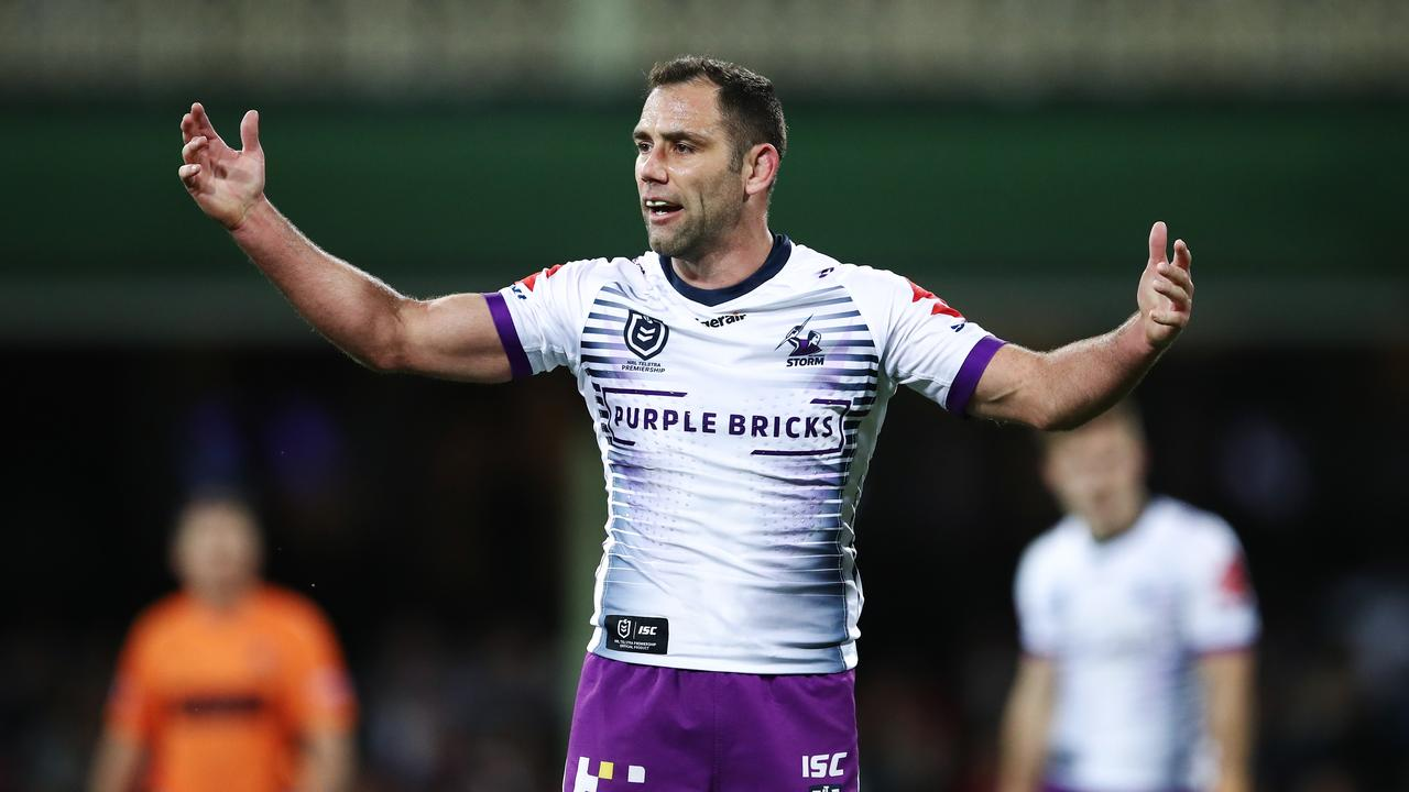 Cameron Smith has been outspoken about the current crisis facing the game. Picture: Getty