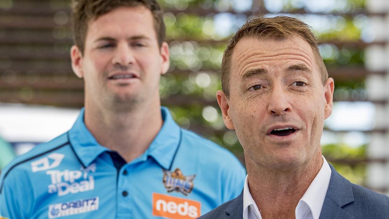 Titans CEO Steve Mitchell. Picture: Jerad Williams