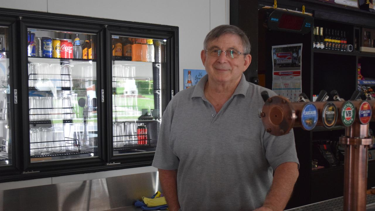 TIARO BUSINESSES: Owner of the Royal Hotel Tiaro, Bill Halliwell. Photo: Stuart Fast