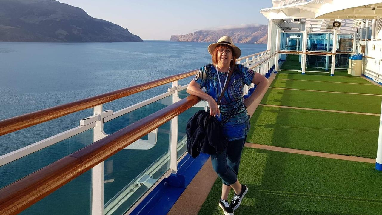 South Australian woman Linda Lavender, who died from COVID-19, aboard the Ruby Princess where she contracted the virus. Picture: Supplied by family