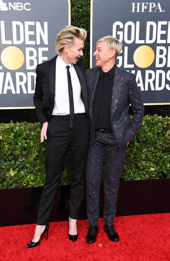Portia de Rossi and her wife, Ellen DeGeneres.