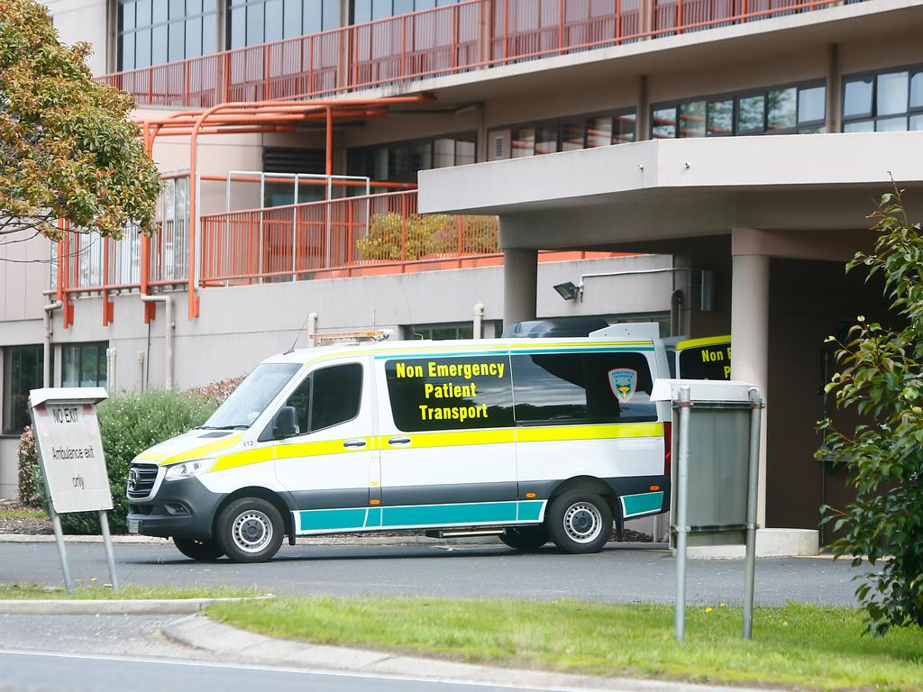 The Mersey Community Hospital. Patients were transferred from the North West Regional Hospital in Burnie to the Mersey Community Hospital in Latrobe. Picture: PATRICK GEE