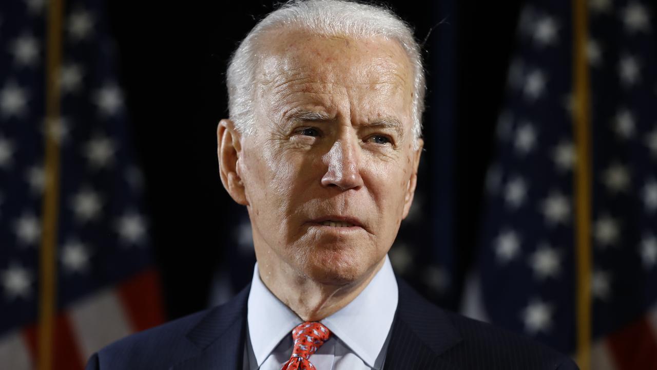 former Biden staffer Tara Reade that, in 1993, Biden had sexually assaulted her. Picture: AP/Matt Rourke