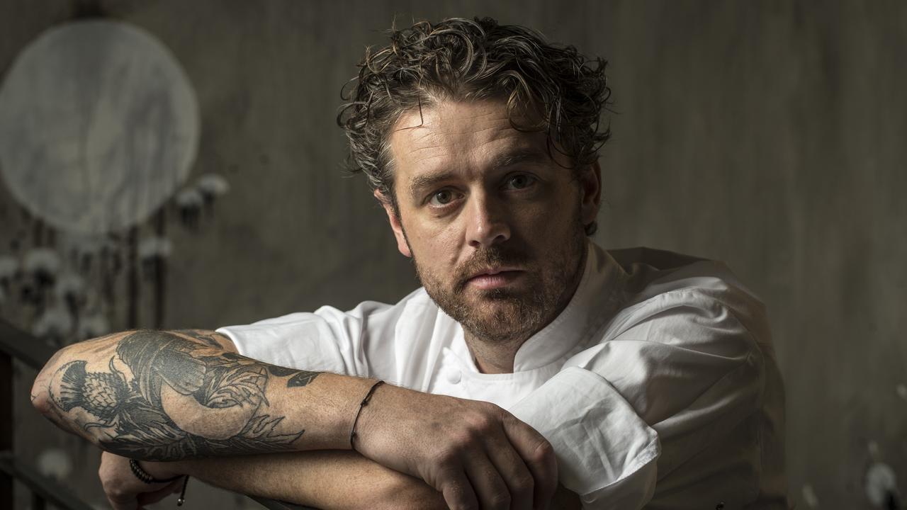 Jock Zonfrillo pictured at his Restaurant Orana in 2014. Picture: Matt Turner.