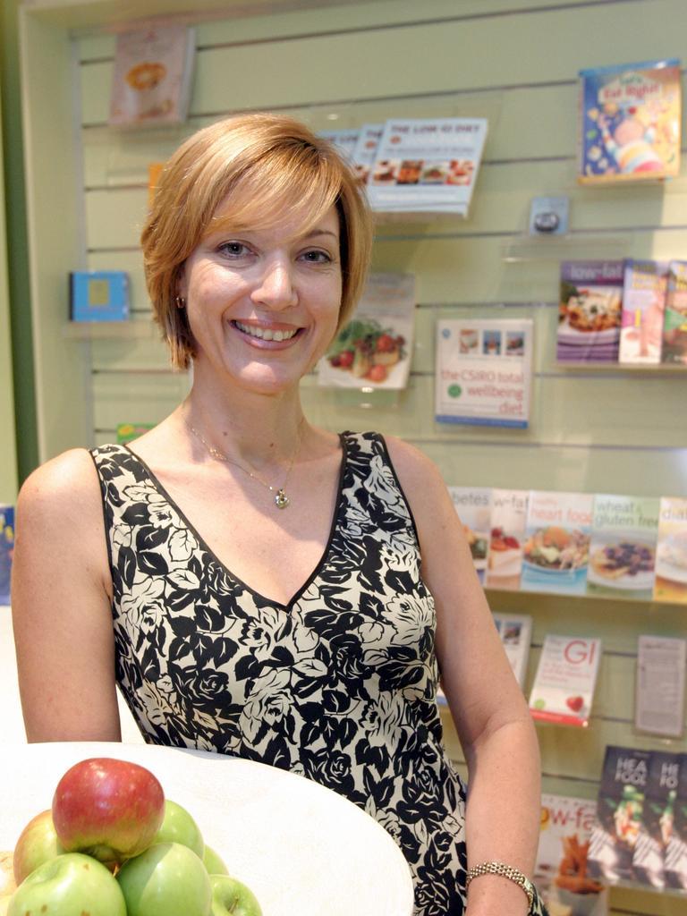 Dietitian Amanda Clark.