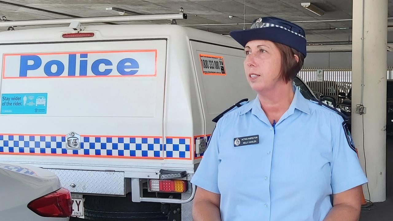 Acting Inspector Kelly Hanlen. Picture: Allan Reinikka