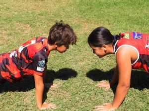 Juniors training hard 'for when footy returns'