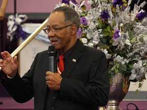 Pastor dies after packed church service