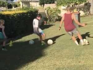 Kicking goals under Covid-19 lockdown