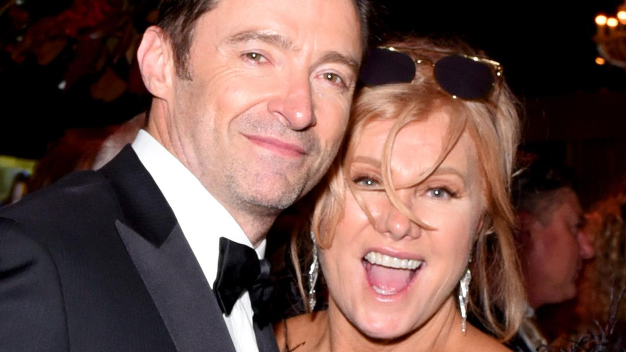 Hugh Jackman and Deborra-lee Furness. Picture: Getty Images