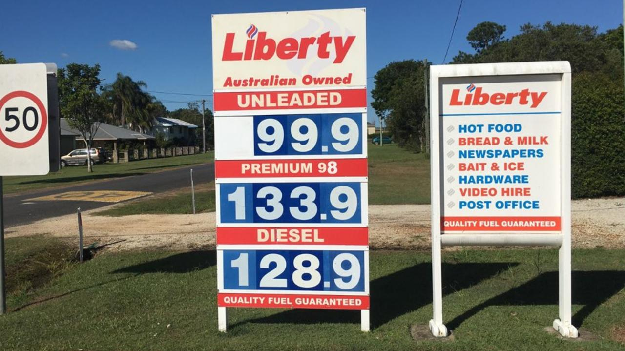 Tucabia General Store has been the first fuel station to offer petrol at under $1 a litre.