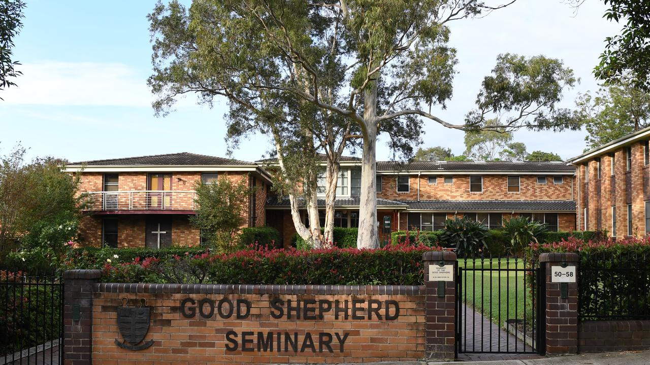 The Good Shepherd Seminary where Cardinal George Pell is residing in Sydney. Picture: AAP Image/Dean Lewins