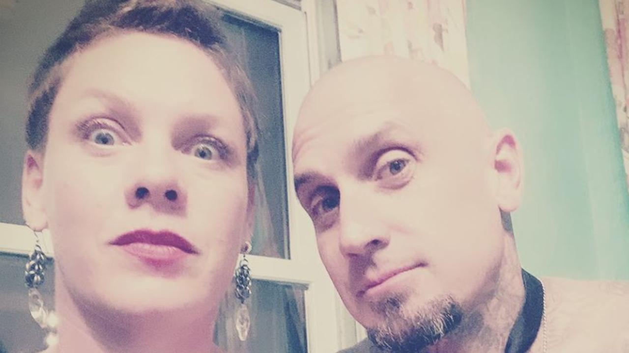 Pink and husband Carey Hart.