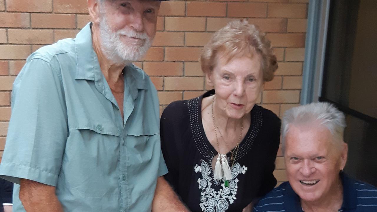 President Neil Denison, founder Shirley White and former president Lee Andresen.