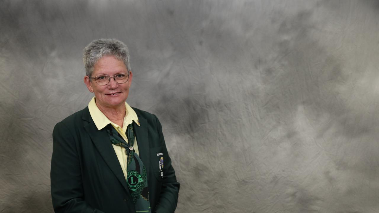 Blue River Mackay Lions Club Vice District Governor Audrey Kenny