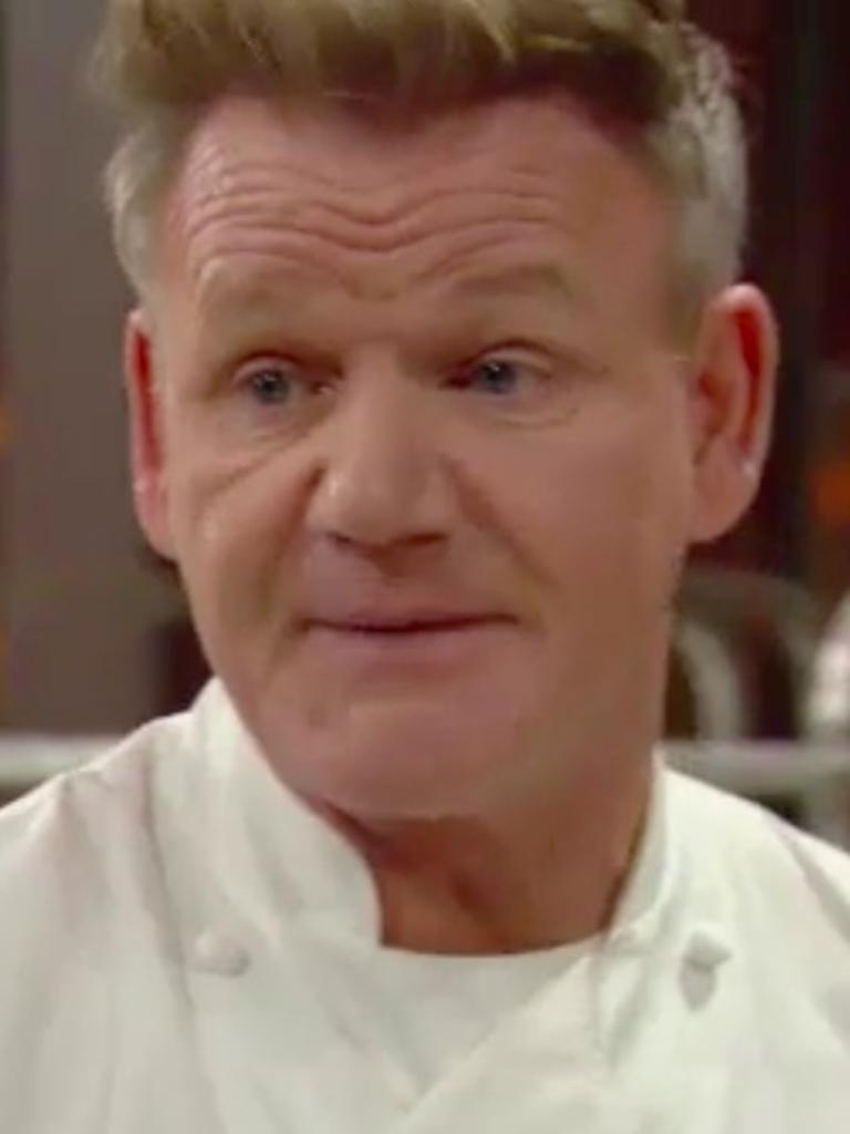 Gordon making eye contact at all costs.