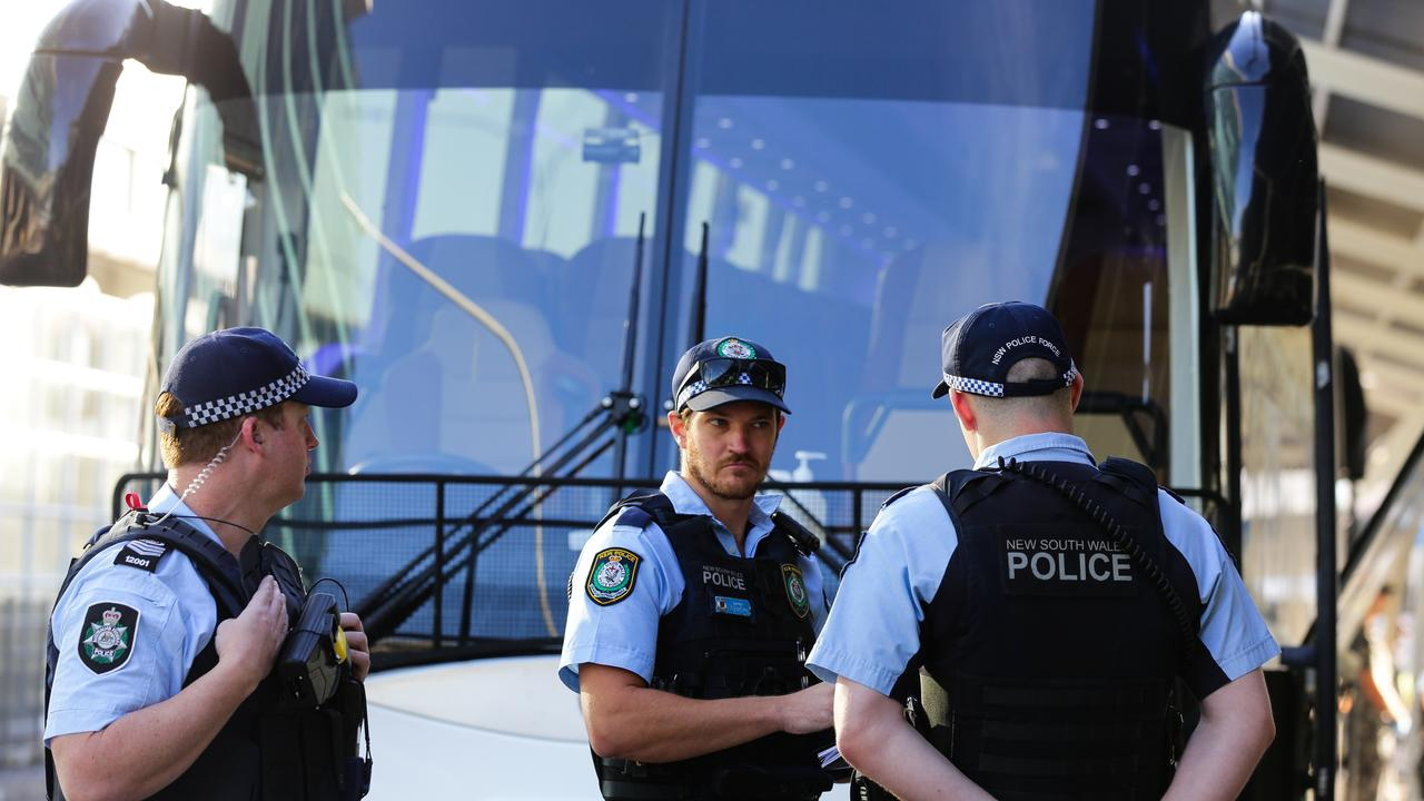 Australians arriving at Sydney Airport. Picture: Gaye Gerard/Daily Telegraph