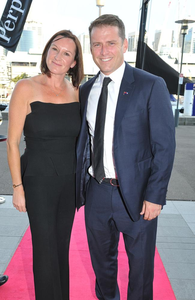 Cass and Karl Stefanovic in 2014. Photographer: Belinda Rolland