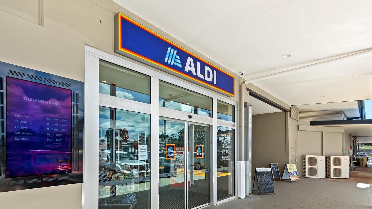 The opening of Aldi at the Bridge St Plaza in Torrington.