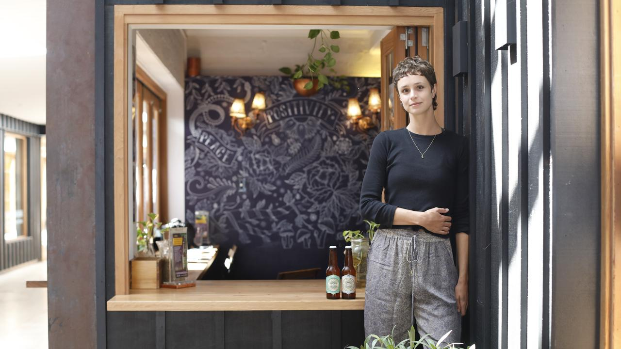 Grace Fayra is the manager at Elixiba Byron Bay. The restaurant is offering takeaway and deliveries and giving free curries to essential workers.