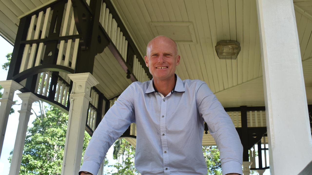 New Gympie Mayor Glen Hartwig.