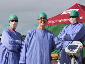 Ambos fast-tracked onto the virus frontline
