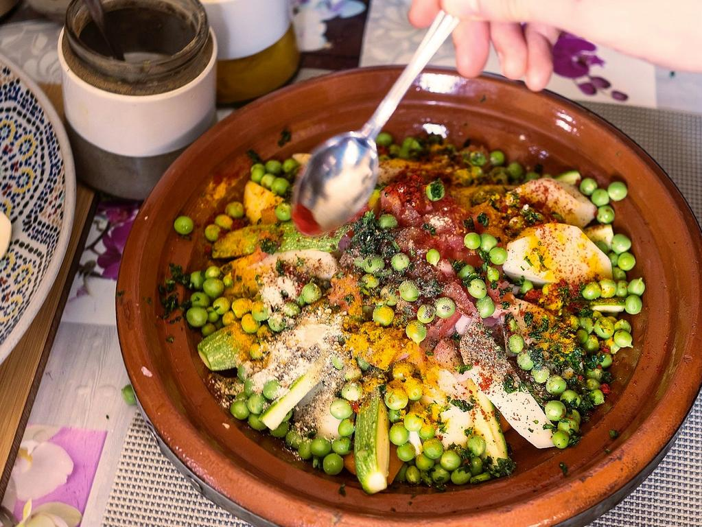 Learning how to cook authentic Moroccan food starts from $24 per person for a 90-minute class.