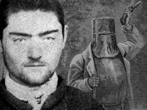 Mystery man behind Ned Kelly's armour suit