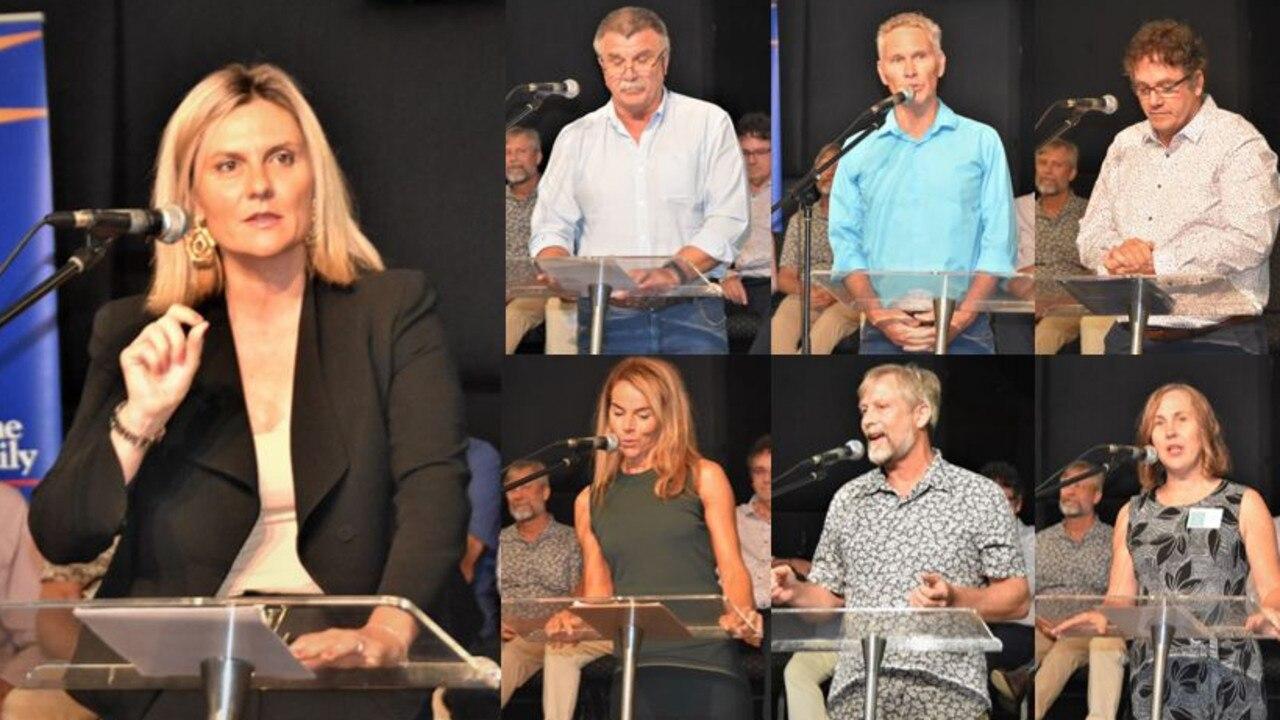 NEW COUNCIL: Noosa's seven elected councillors will be sworn in on Wednesday. Photo: Caitlin Zerafa