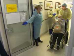 Moving send-off as 94-year-old virus patient recovers