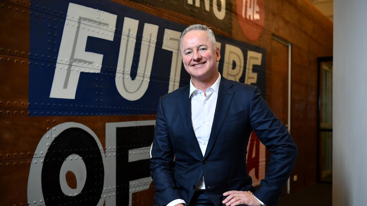 Nine Entertainment CEO Hugh Marks.