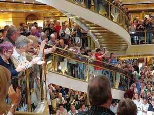 Cruise passengers never stood a chance