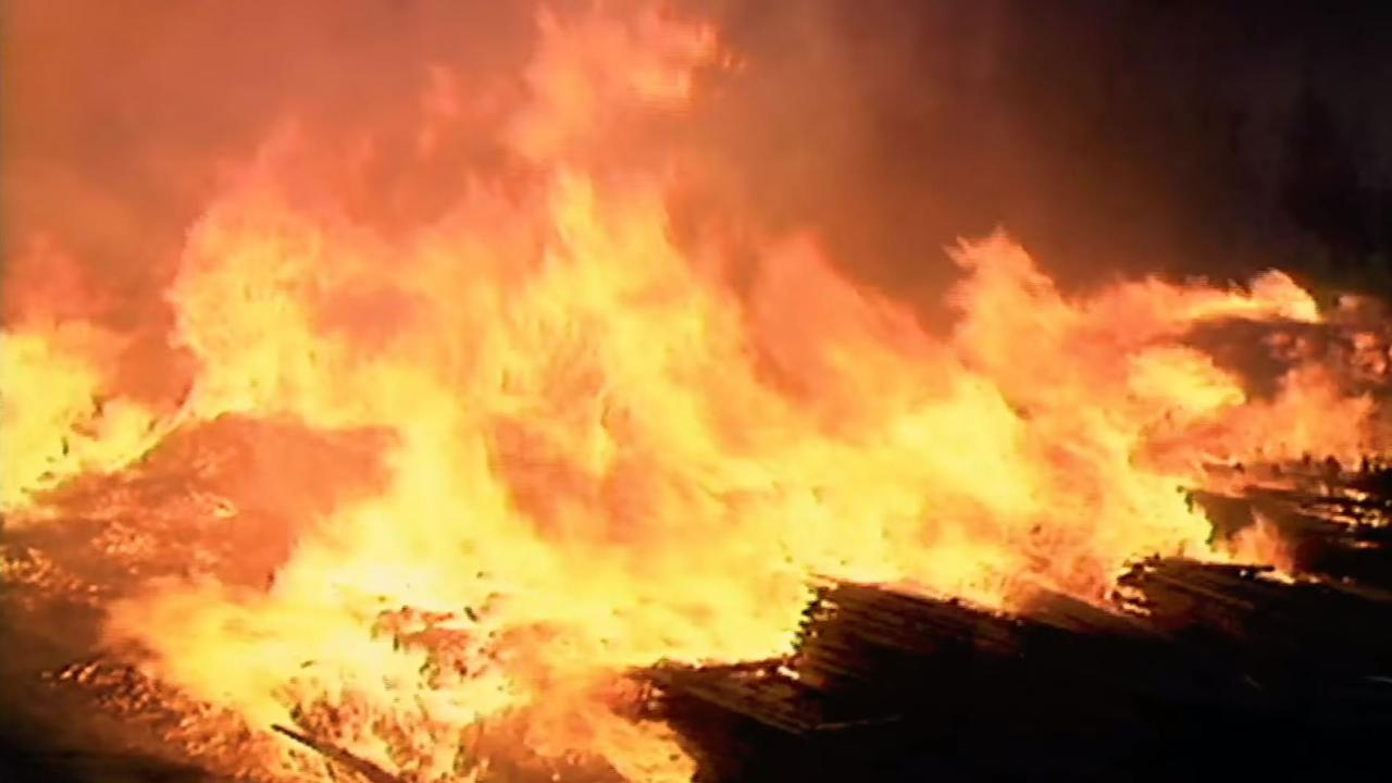 GET READY: QFES are urging people to get a headstart on bushfire season while they're at home.