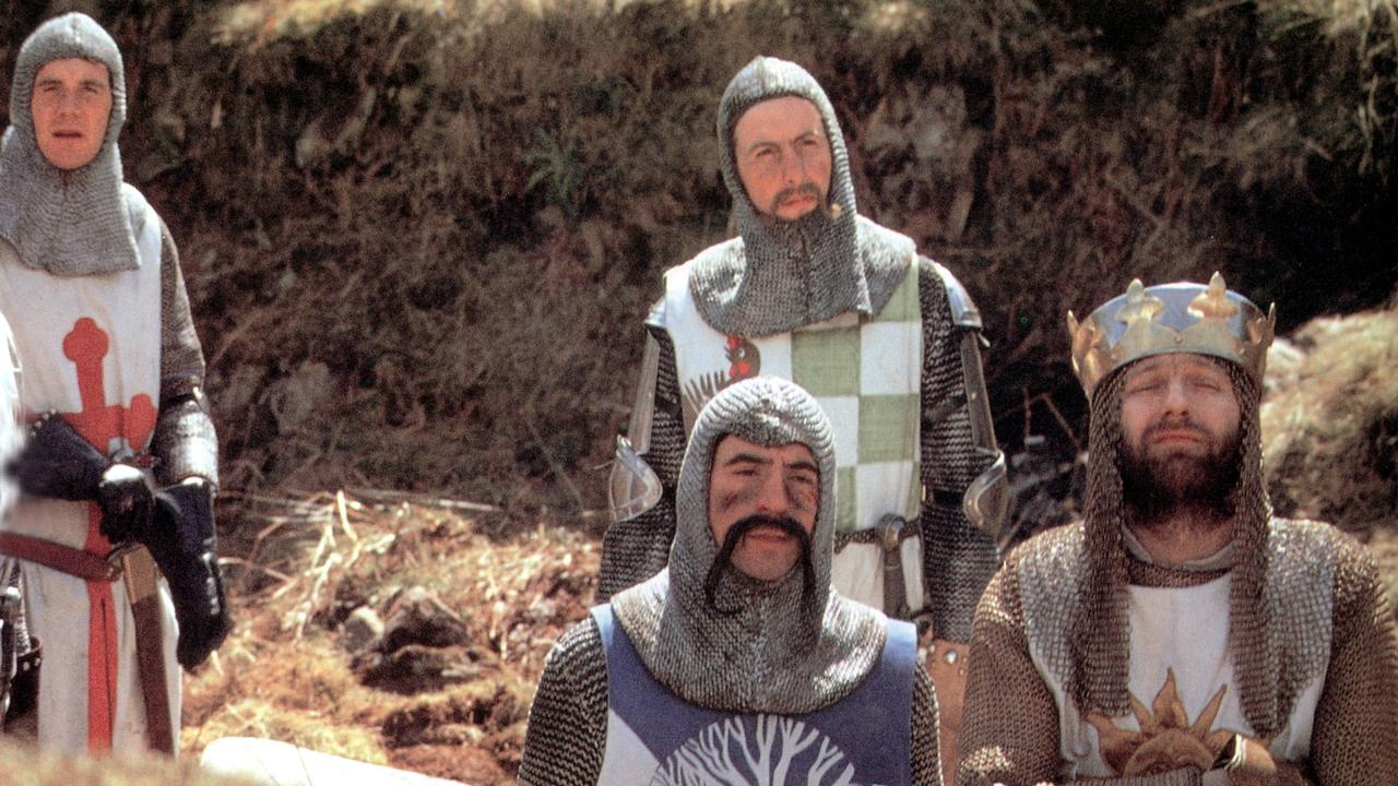 Monty Python & The Holy Grail will air on World Movies at 7.30pm.